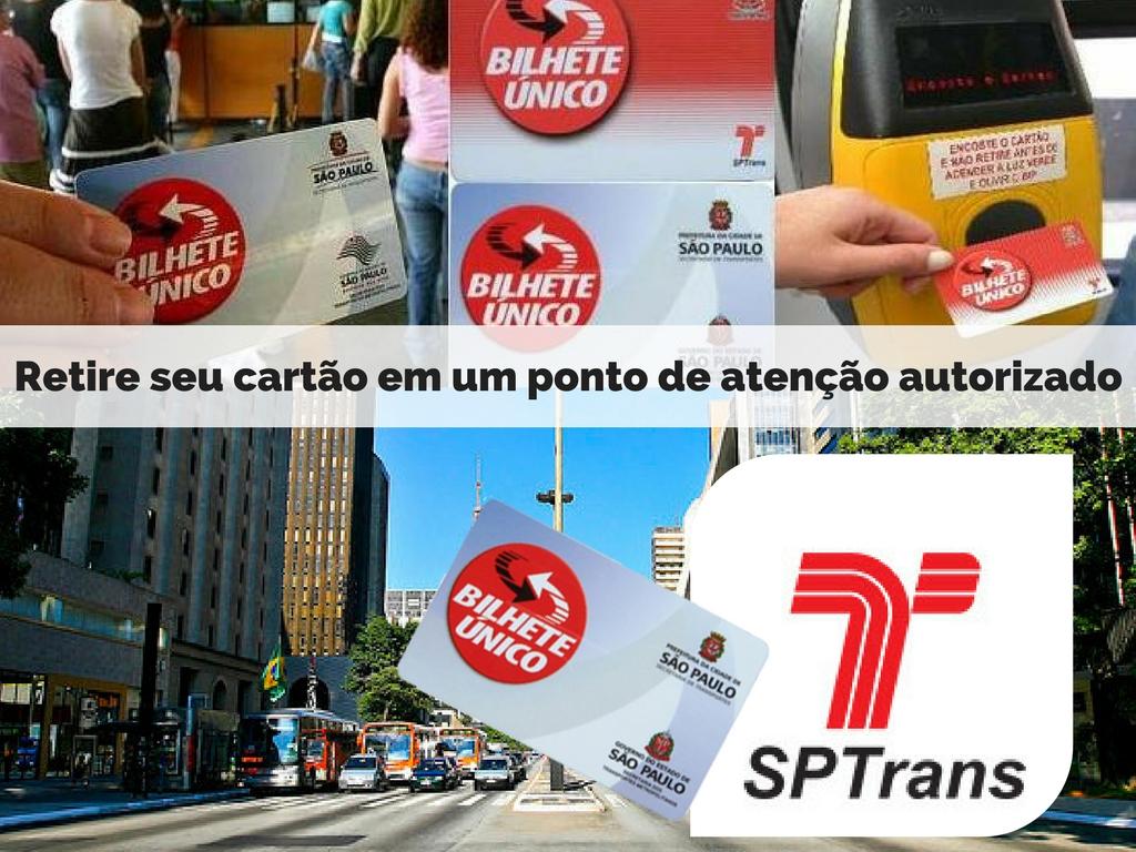 Conheça seu cartao de Bilhete Único SP Trans de Transporte em um punto de atenção autorizado