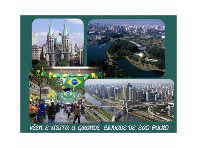 Sao Paulo é uma formosa cidade