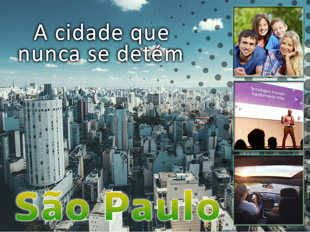 São Paulo a cidade que nunca se detém