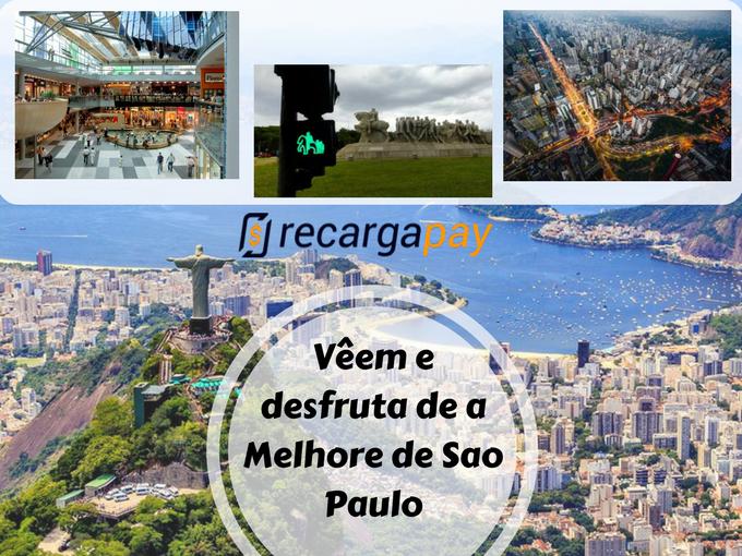 Desfruta dos melhores lugares de São Paulo