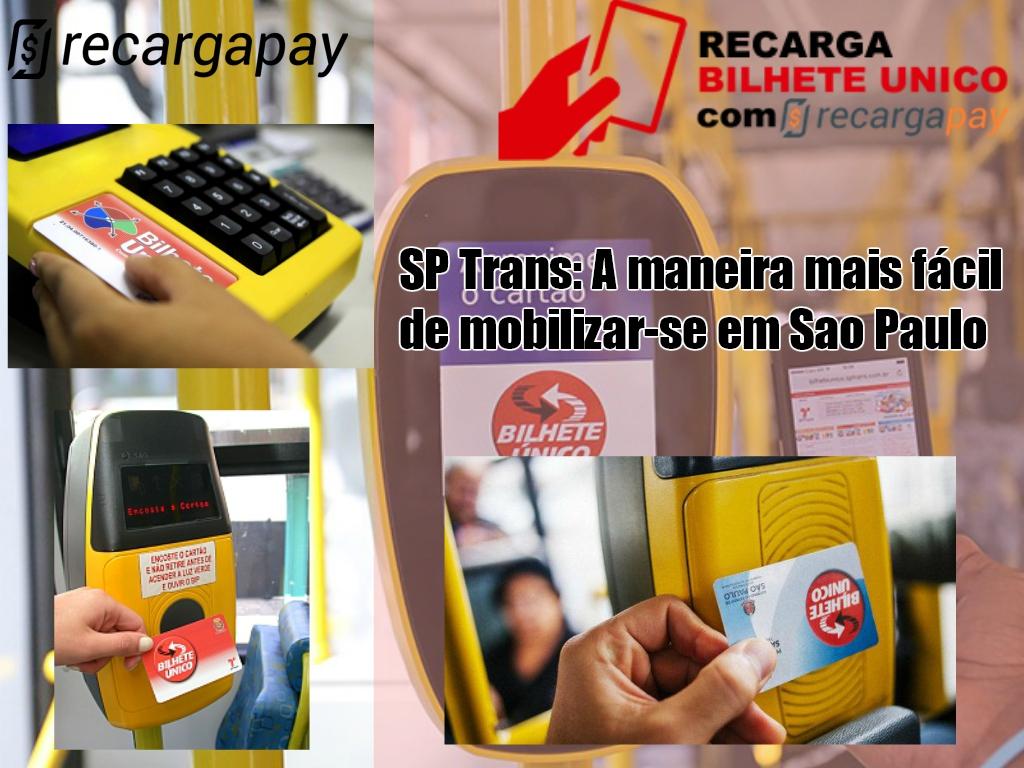 Recarga o Bilhete Unico SP para mobilizar-se em São Paulo