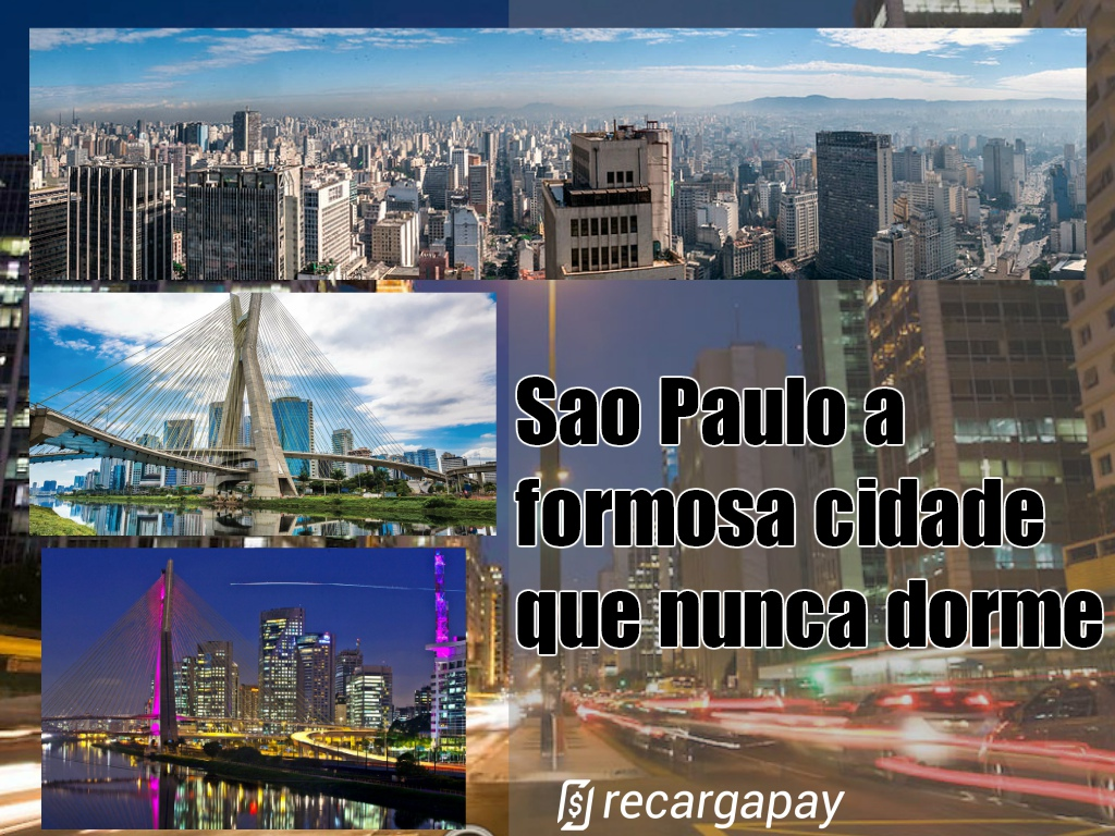 A cidade de São Paulo - A cidade que nunca dorme