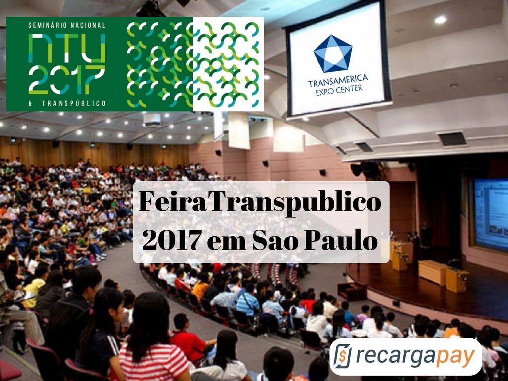 Feira Transpublico São Paulo 2017 procura melhorar o transporte publico
