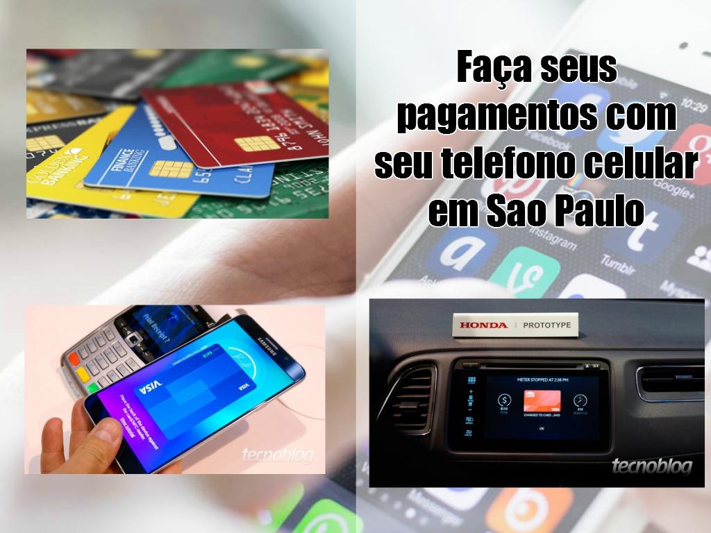 Novas formas de pagamento pelo celular em São Paulo