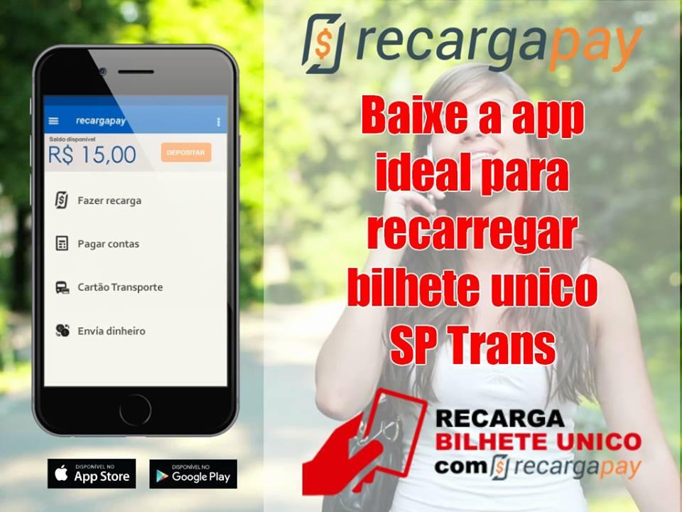 Baixe a app ideal para recarregar bilhete unico