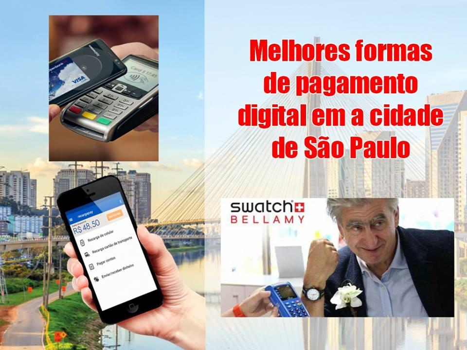 Melhores formas de pagamento digital em a cidade de Sao Paulo