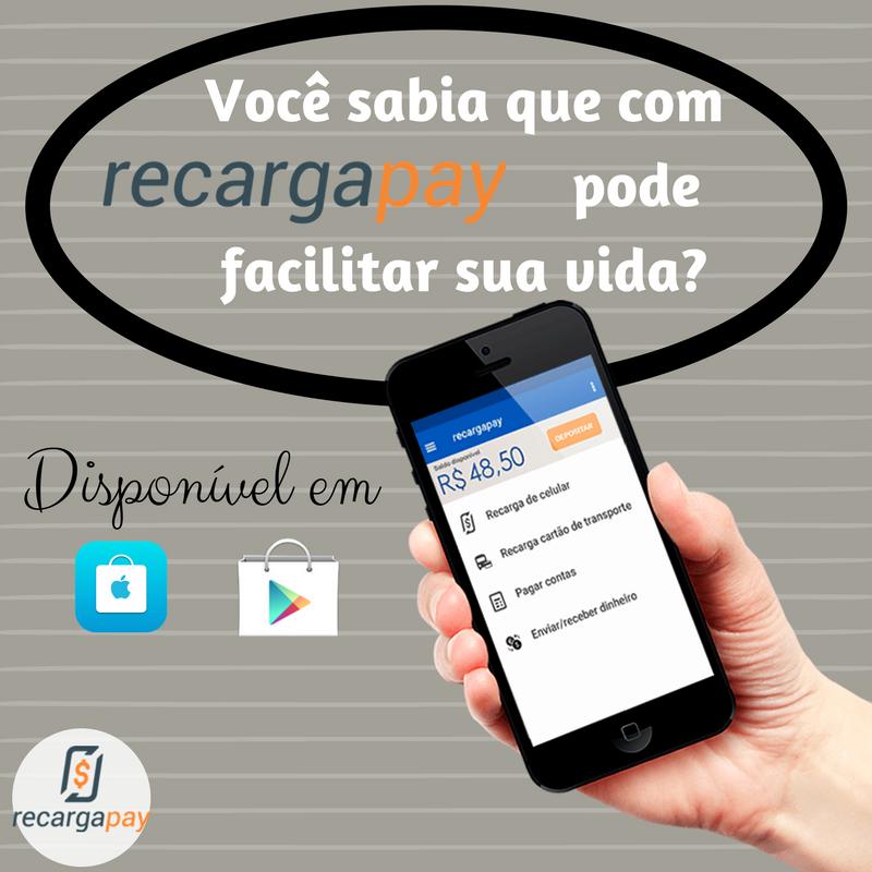 aplicativo para recarregar bilhete único Recargapay
