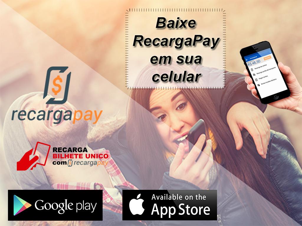 Baixe RecargaPay em sua celular