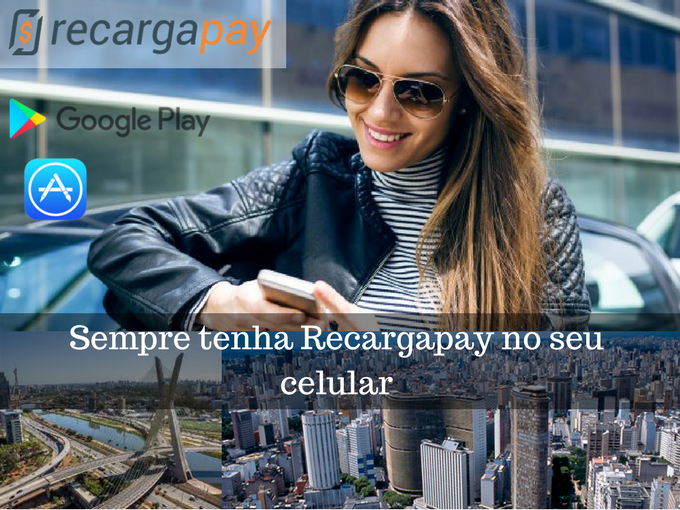 Tenha Recargapay no seu celular