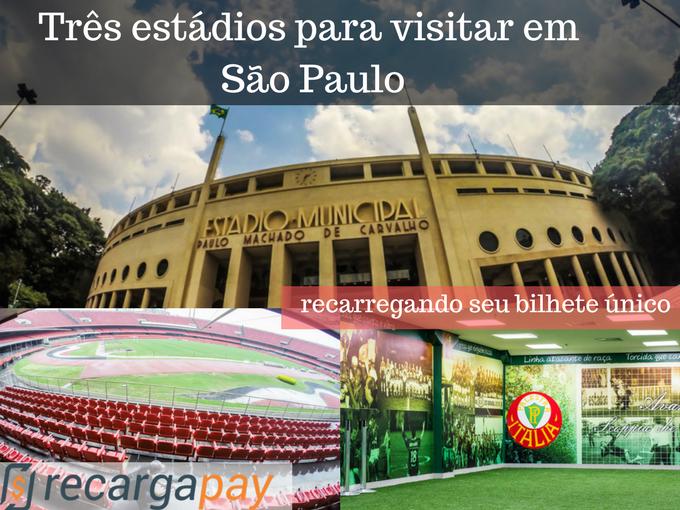 estádios para visitar em São Paulo
