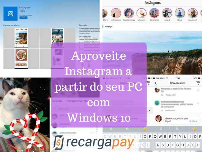 Instagram para Windows 10