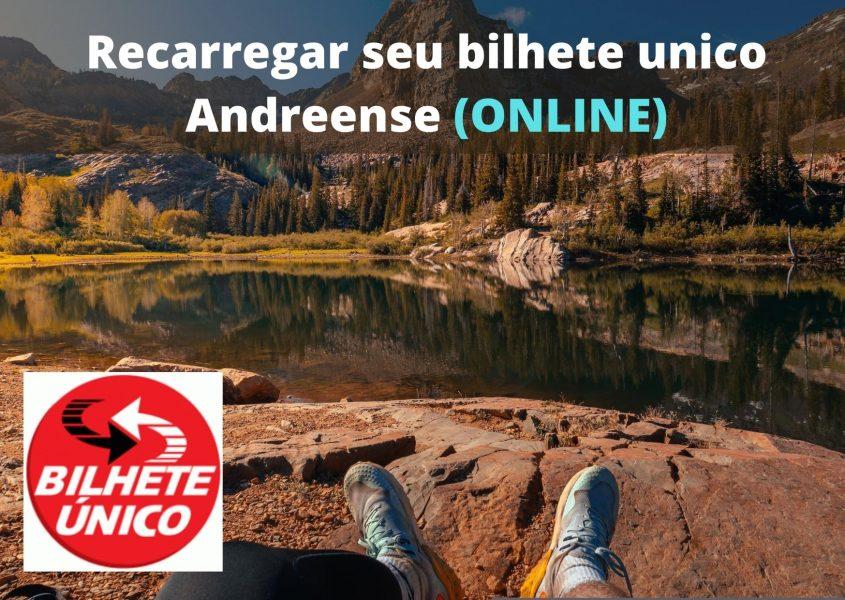 Recarregar bilhete unico Andreense