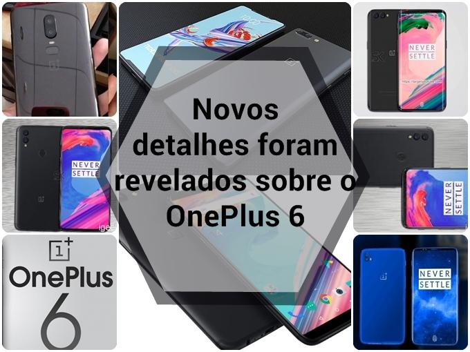 Novos detalhes sobre o OnePlus 6