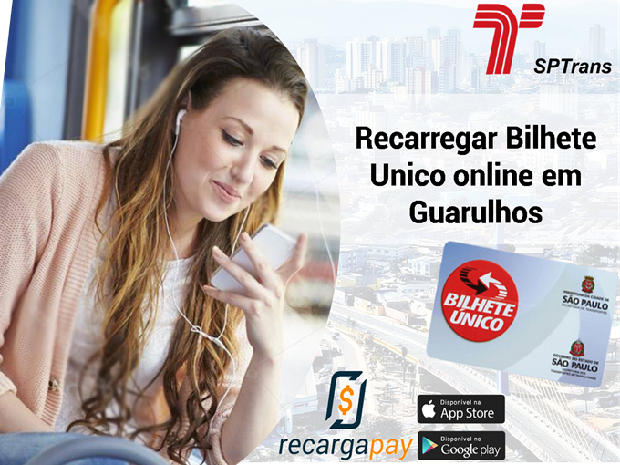 Recarregar Bilhete Único online em Guarulhos