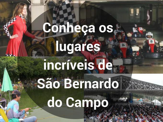 Lugares incríveis de São Bernardo do Campo
