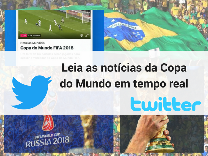 Notícias da Copa do Mundo em tempo real