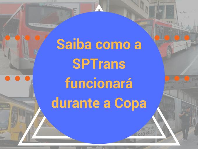 Como a SPTrans funcionará durante os jogos no Brasil