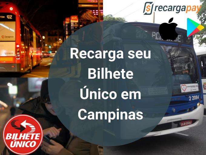Recarga Bilhete Único em Campinas