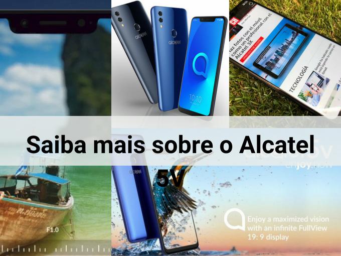 Alcatel 5V para recarregar Bilhete Único