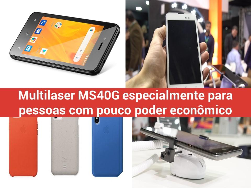 Multilaser MS40G para pessoas com pouco poder econômico
