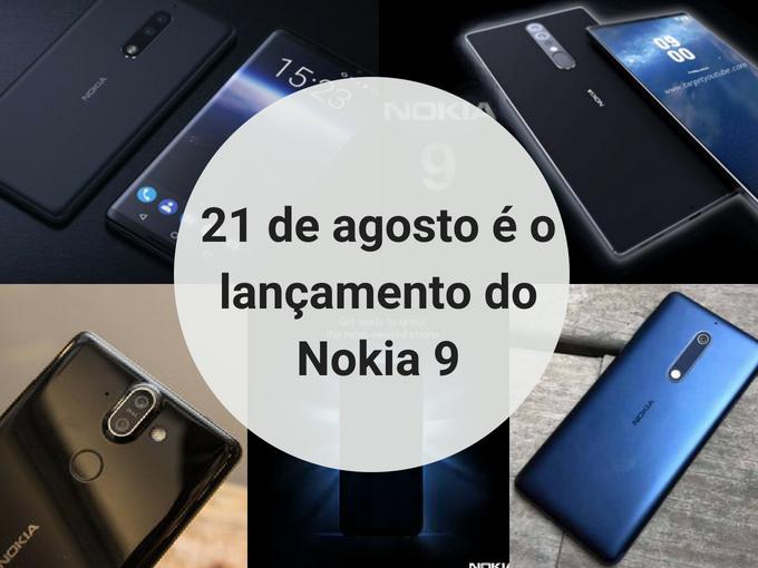 Lançamento do Nokia 9