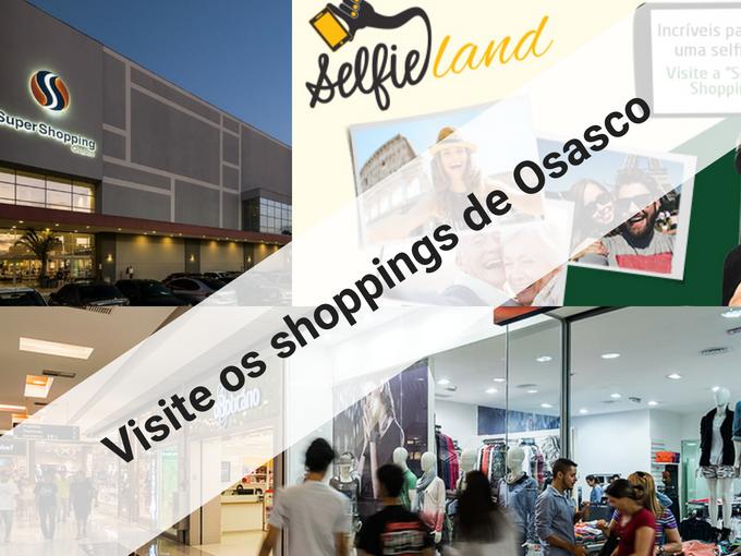 Visite os shoppings de Osasco