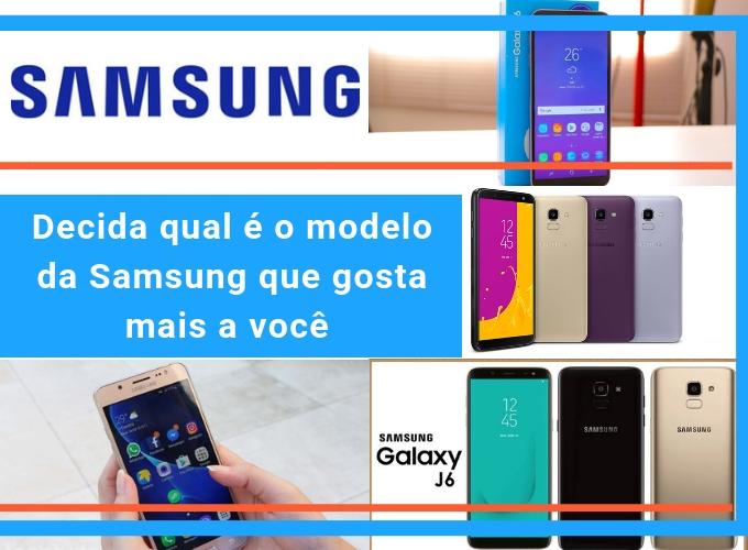 Decida qual é o celular Samsung mais adequado para você