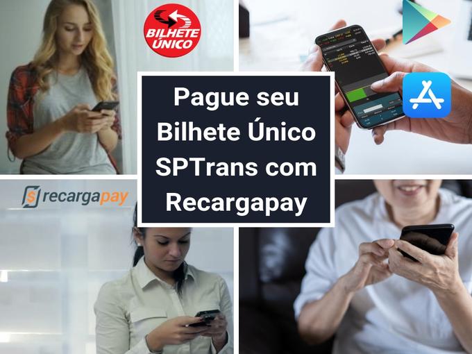 Pagar Bilhete Único com Recargapay jpg