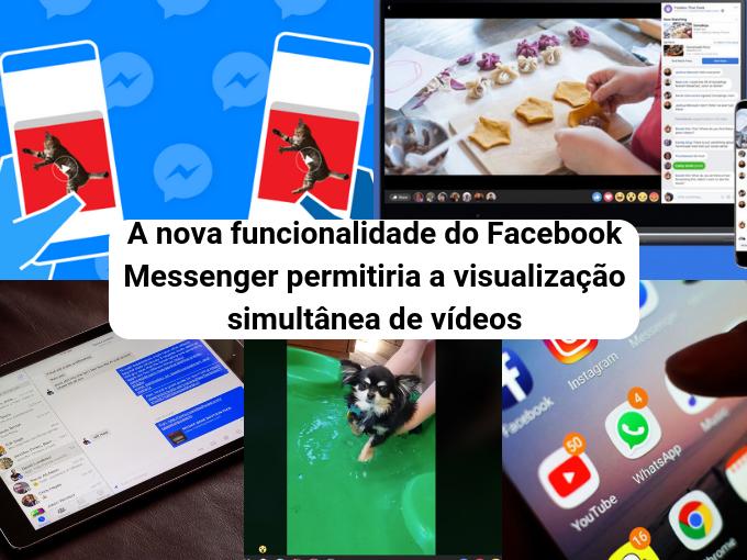 Facebook Messenger sincroniza seus vídeos