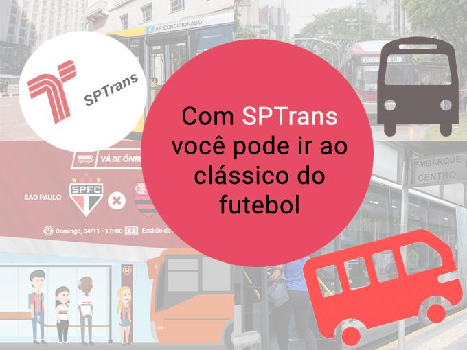 SPTrans e suas rotas para clássicos de futebol!