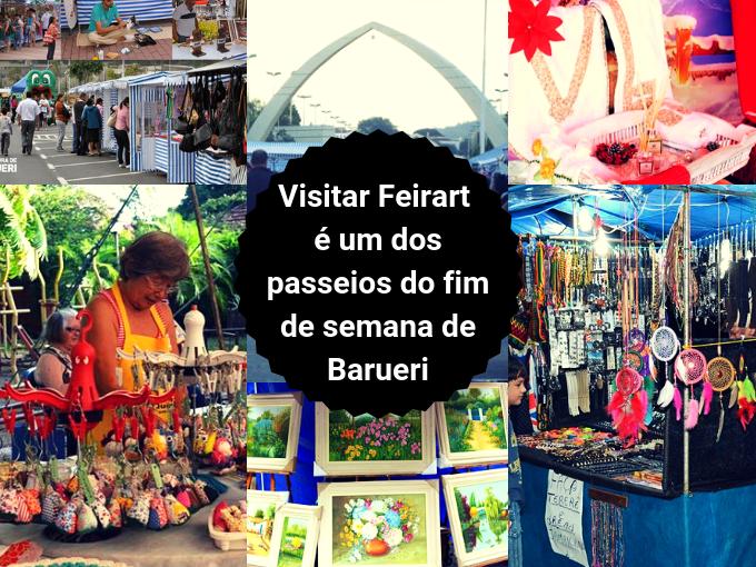 A feira do Artesanato de Barueri tem tudo