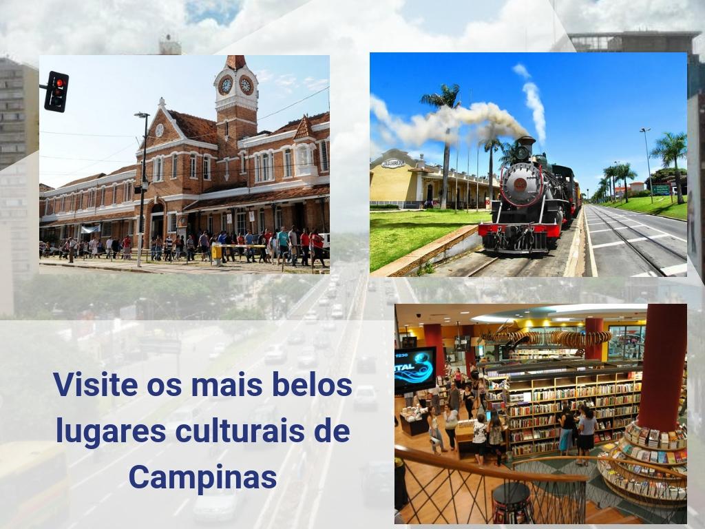 Visite os mais belos lugares culturais de Campinas