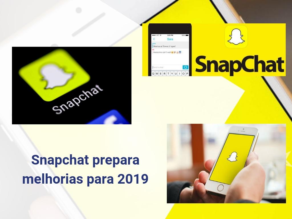 Snapchat prepara melhorias para 2019