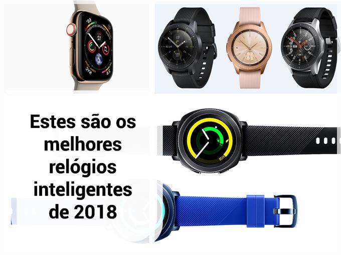 Estes são os melhores relógios inteligentes de 2018