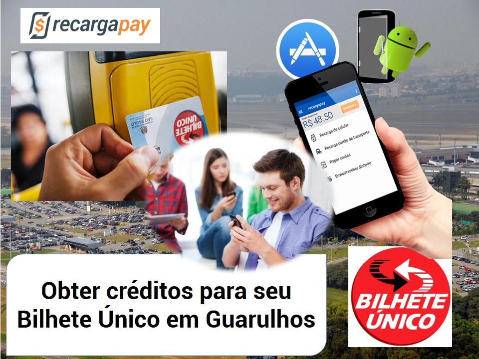 Obtenha saldo para seu Bilhete Único com nosso aplicativo em Guarulhos