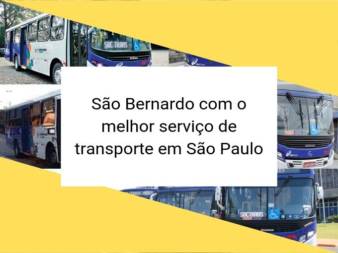 São Bernardo com o melhor serviço de transporte em São Paulo