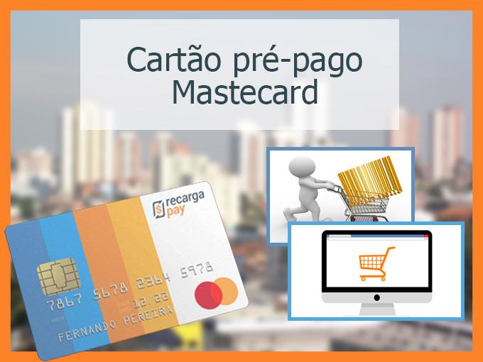 cartão pré-pago mastercard