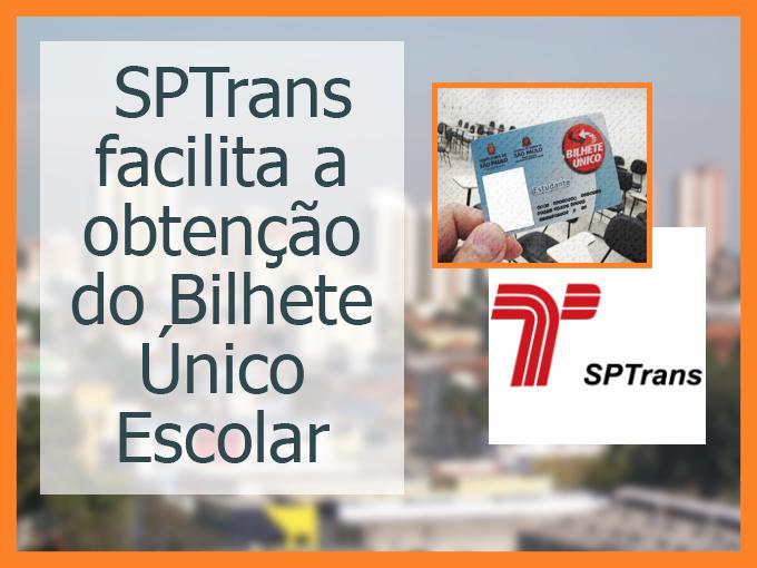 SPTrans facilita a obtenção do Bilhete Único Escolar