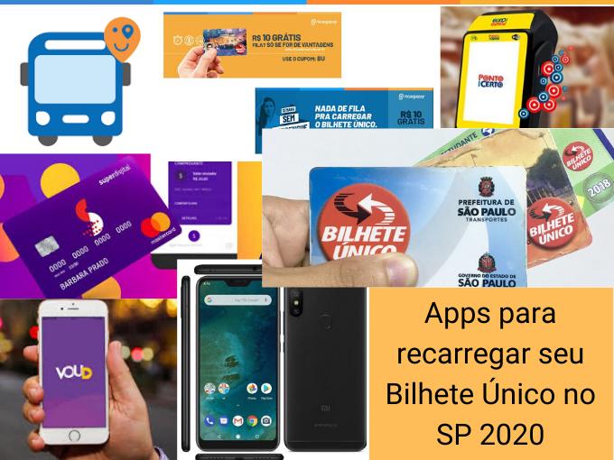 Apps para recarregar seu Bilhete Único no SP 2020