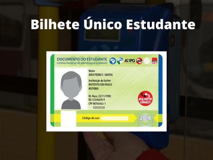 Bilhete Único Estudiante