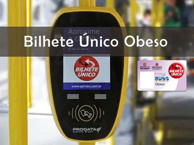 Bilhete unico obeso